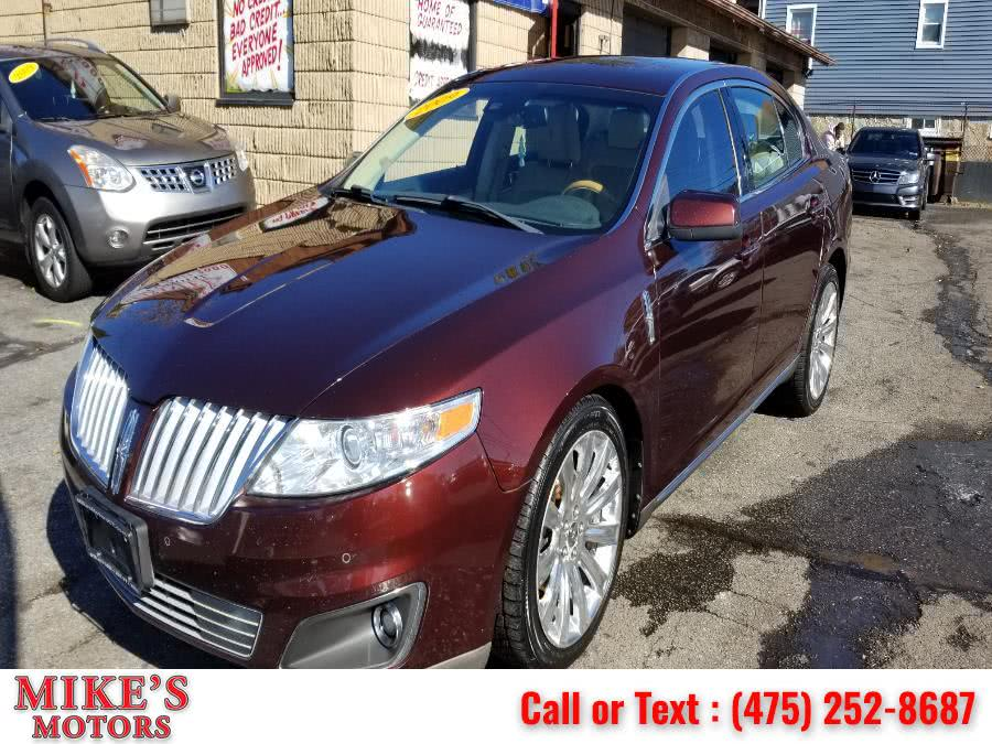 Used Lincoln MKS 4dr Sdn AWD 2009 | Mike's Motors LLC. Stratford, Connecticut