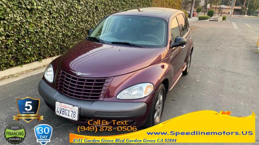 Used Chrysler PT Cruiser 4dr Wgn Limited 2002 | Speedline Motors. Garden Grove, California