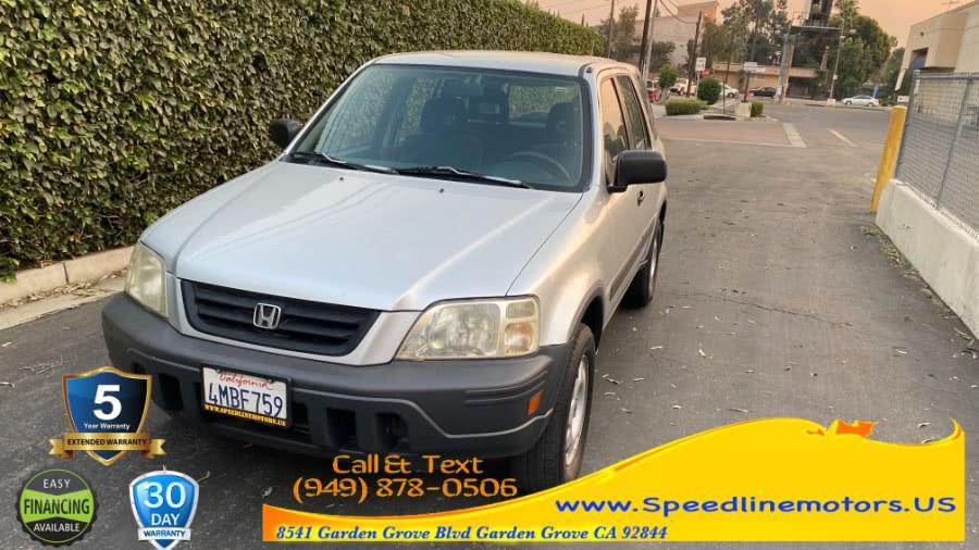 Used Honda CR-V 4WD LX Auto 2000 | Speedline Motors. Garden Grove, California