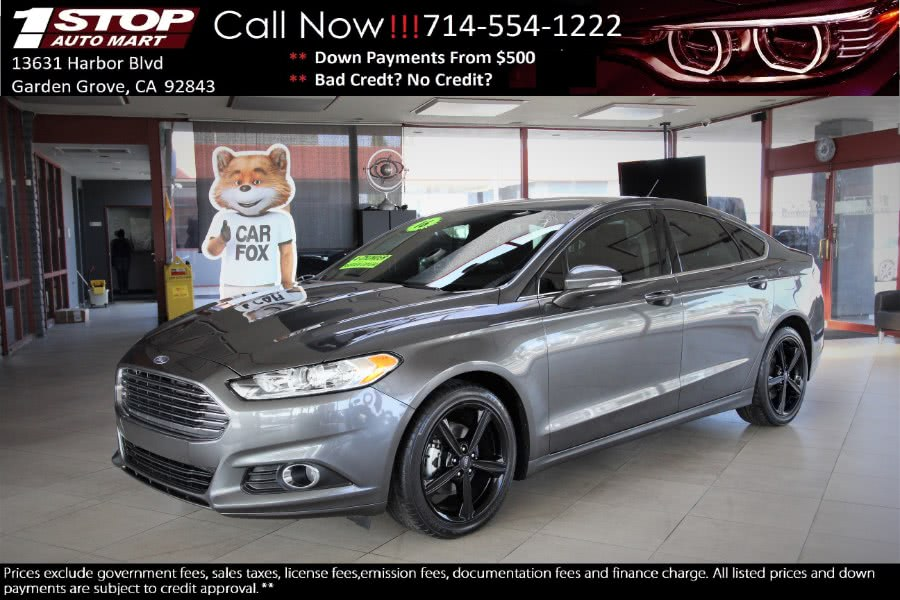 Used 2016 Ford Fusion in Garden Grove, California | 1 Stop Auto Mart Inc.. Garden Grove, California
