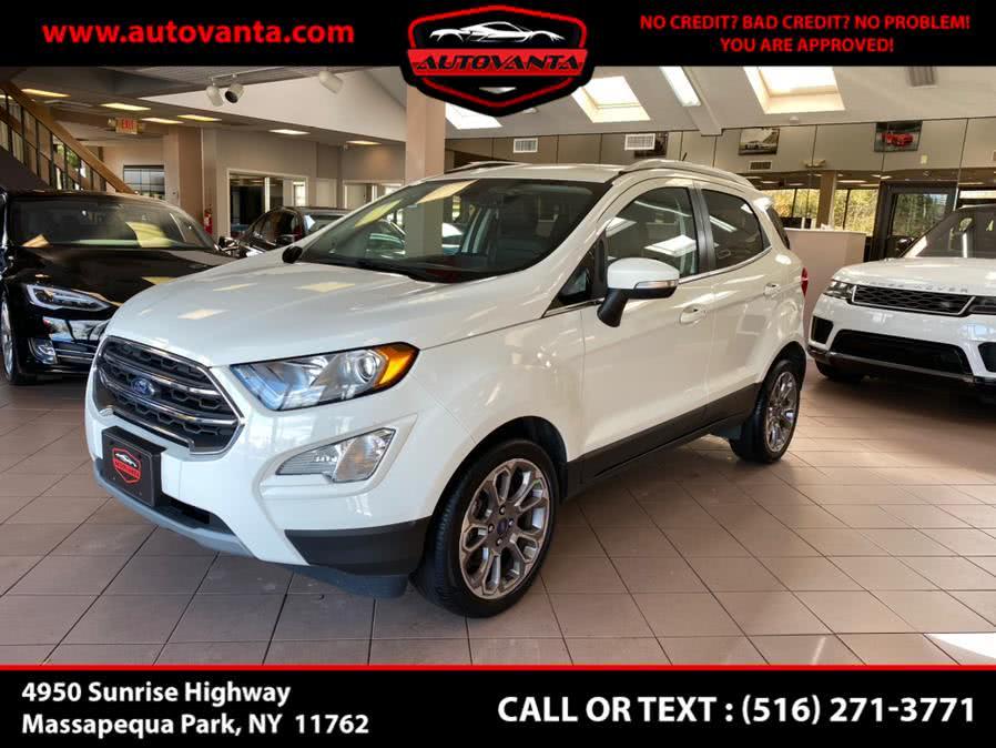 Used Ford EcoSport Titanium FWD 2018 | Autovanta. Massapequa Park, New York