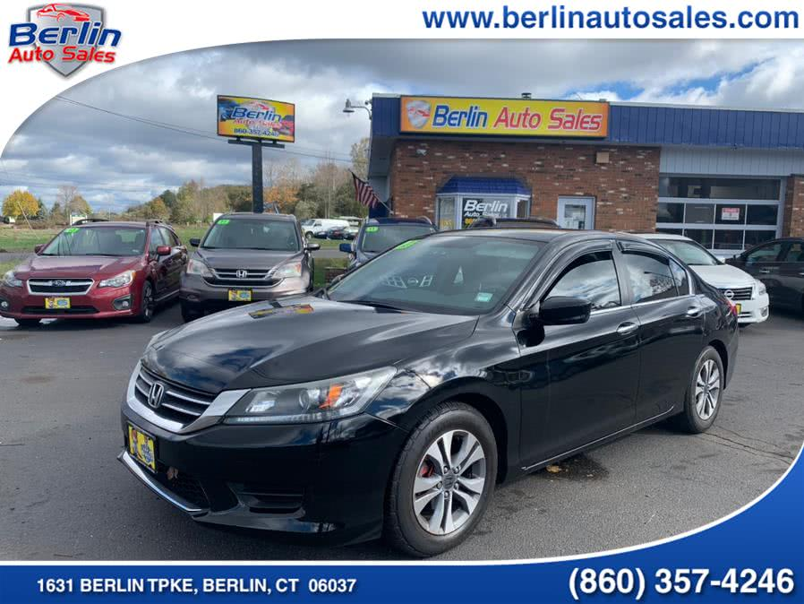 Used Honda Accord Sdn 4dr I4 CVT LX 2013 | Berlin Auto Sales LLC. Berlin, Connecticut