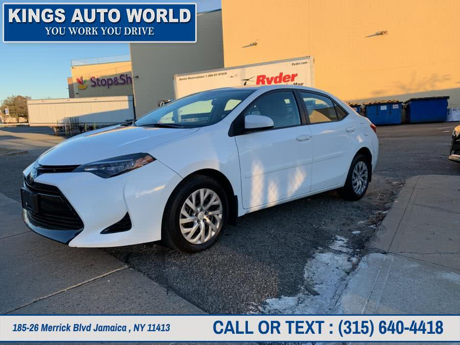 Used Toyota Corolla LE CVT (Natl) 2017 | Kings Auto World. Jamaica , New York