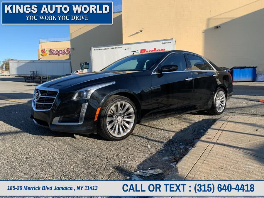 Used Cadillac CTS Sedan 4dr Sdn 2.0L Turbo Luxury AWD 2014 | Kings Auto World. Jamaica , New York