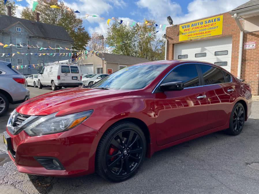 Used Nissan Altima 2.5 SR  Sedan 2017 | VEB Auto Sales. Hartford, Connecticut