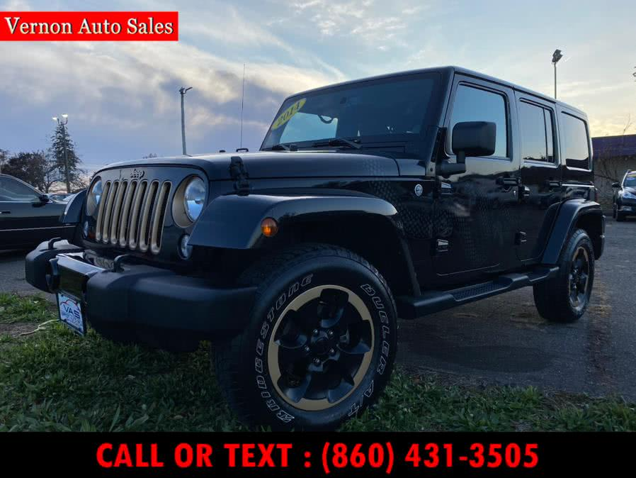 Used 2014 Jeep Wrangler Unlimited in Manchester, Connecticut | Vernon Auto Sale & Service. Manchester, Connecticut