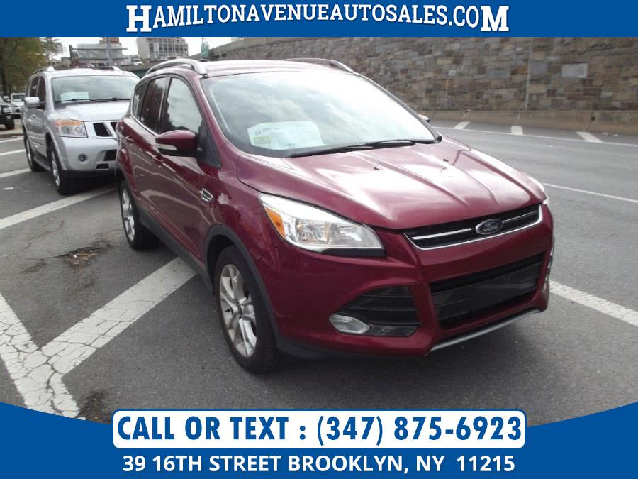 Used Ford Escape 4WD 4dr Titanium 2014 | Hamilton Avenue Auto Sales DBA Nyautoauction.com. Brooklyn, New York