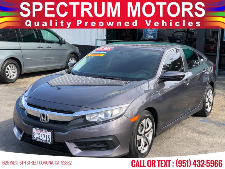 Used 2018 Honda Civic Sedan in Corona, California | Spectrum Motors. Corona, California