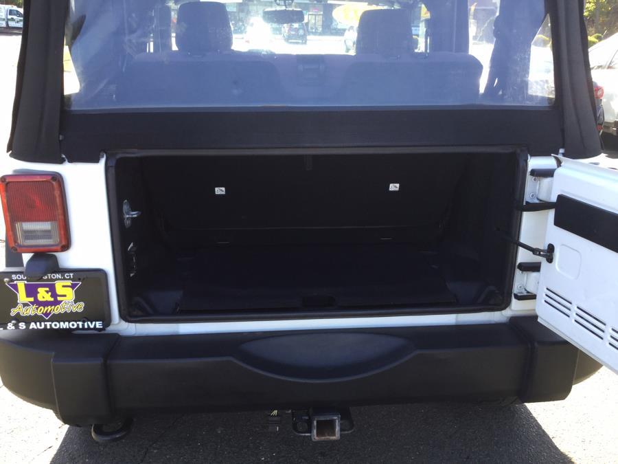 Used Jeep Wrangler 4WD 2dr Sport 2013 | L&S Automotive LLC. Plantsville, Connecticut