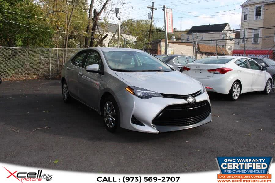 Used Toyota Corolla LE CVT (Natl) 2017 | Xcell Motors LLC. Paterson, New Jersey