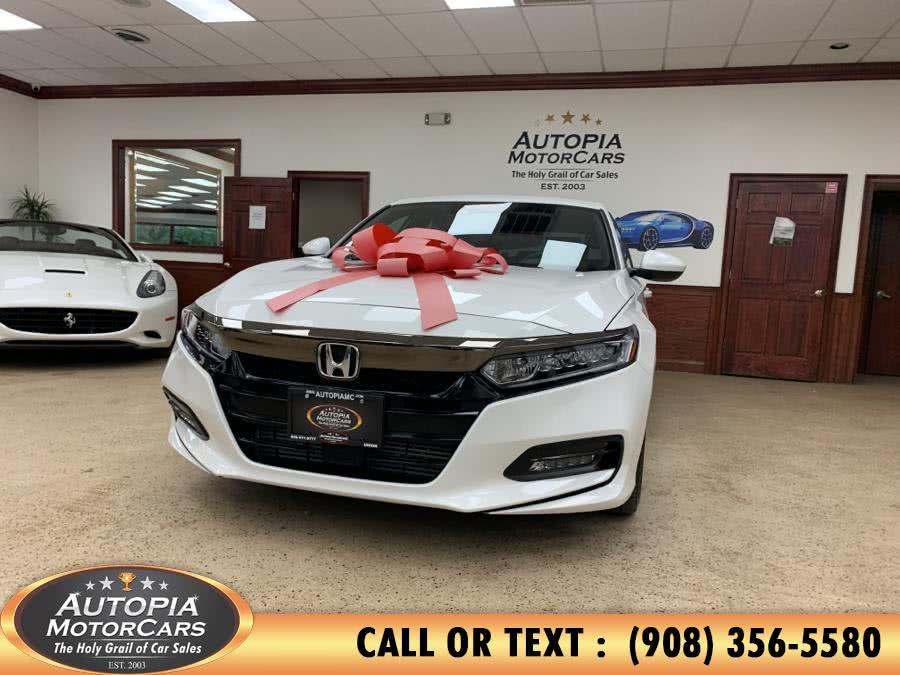 Used Honda Accord Sedan Sport 1.5T CVT 2019   Autopia Motorcars Inc. Union, New Jersey