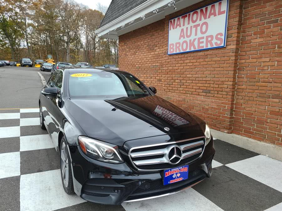 Used 2017 Mercedes-Benz E-Class in Waterbury, Connecticut | National Auto Brokers, Inc.. Waterbury, Connecticut