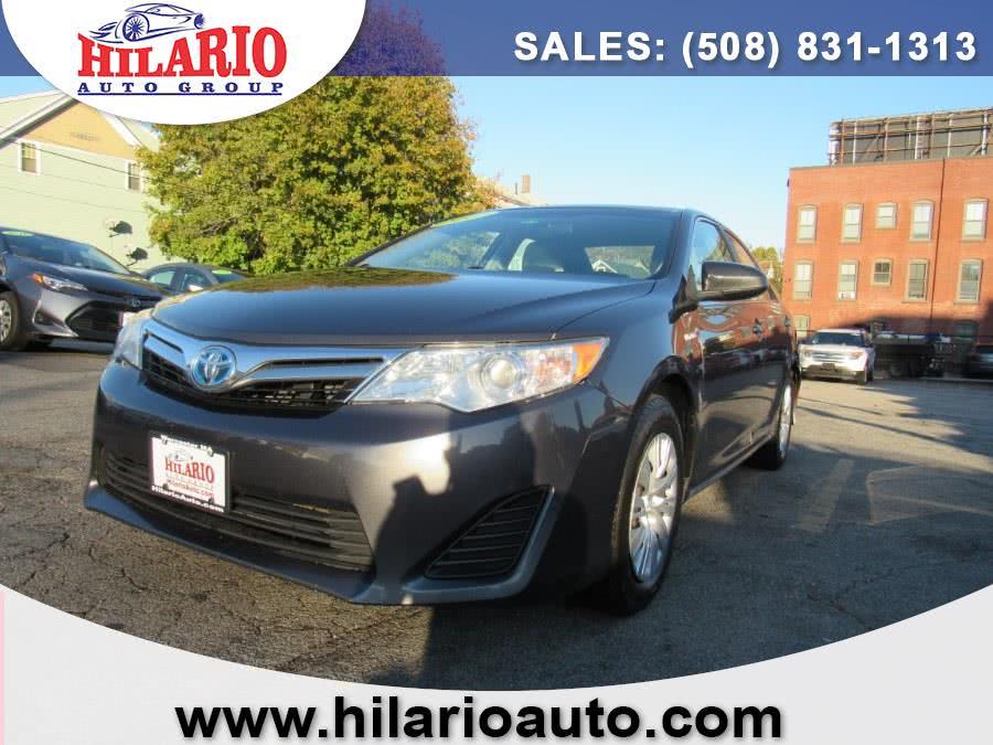 Used 2012 Toyota Camry Hybrid in Worcester, Massachusetts   Hilario's Auto Sales Inc.. Worcester, Massachusetts