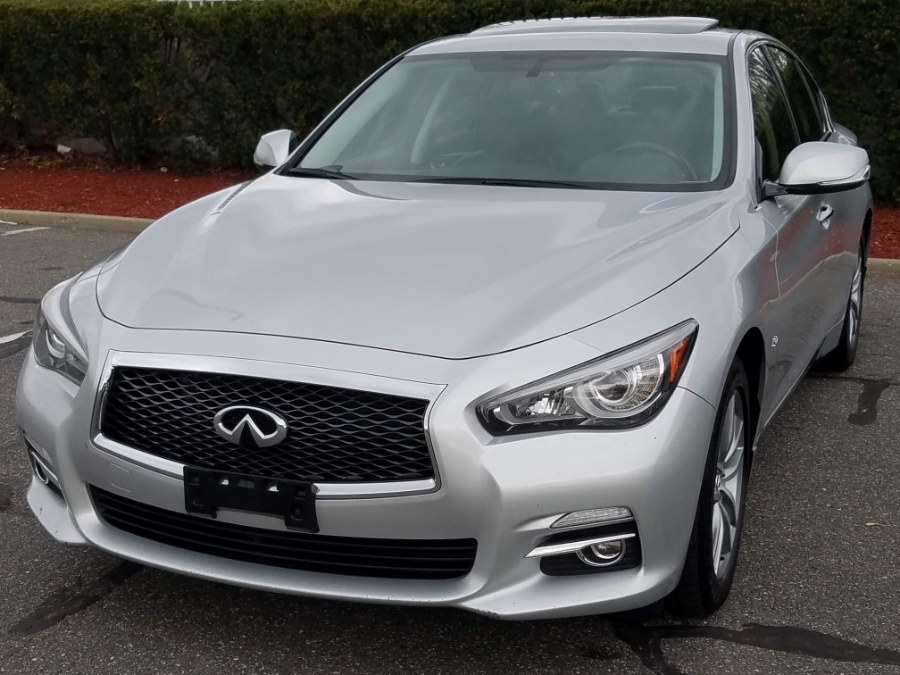 2014 Infiniti Q50 4dr Premium AWD w/Navigation,Back Up Camera,Sunroof,Leather, available for sale in Queens, NY
