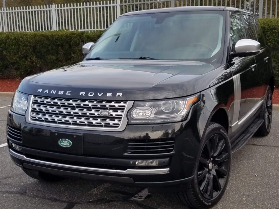 2015 Land Rover Range Rover 4WD Supercharged,Vision Assist Pack,