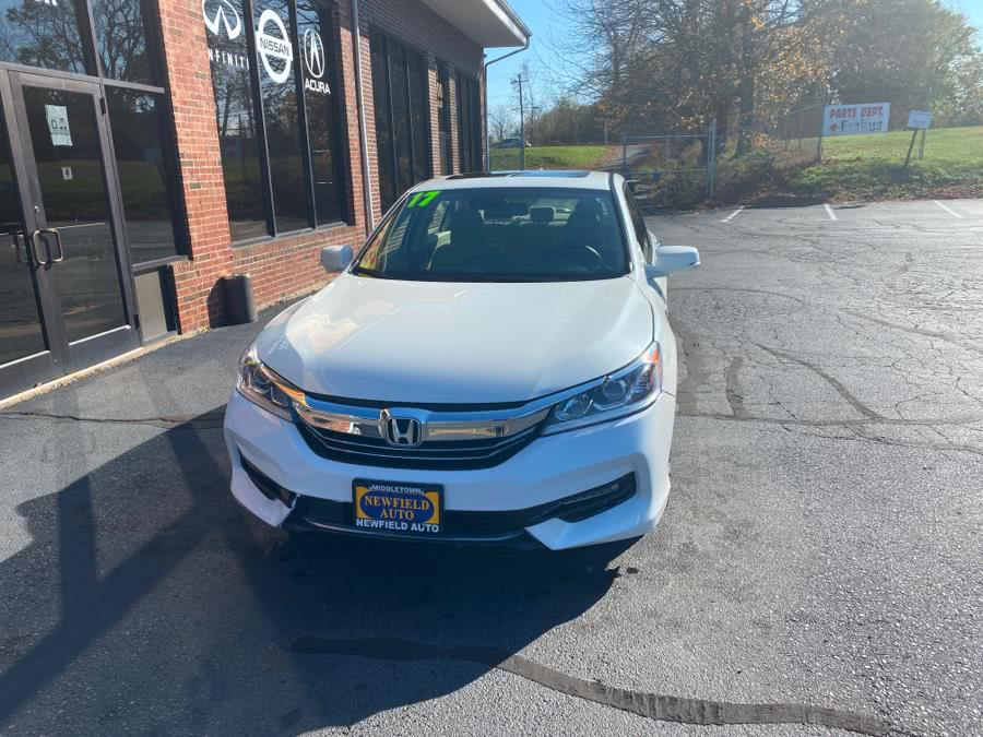 Used Honda Accord Hybrid EX-L Sedan 2017 | Newfield Auto Sales. Middletown, Connecticut