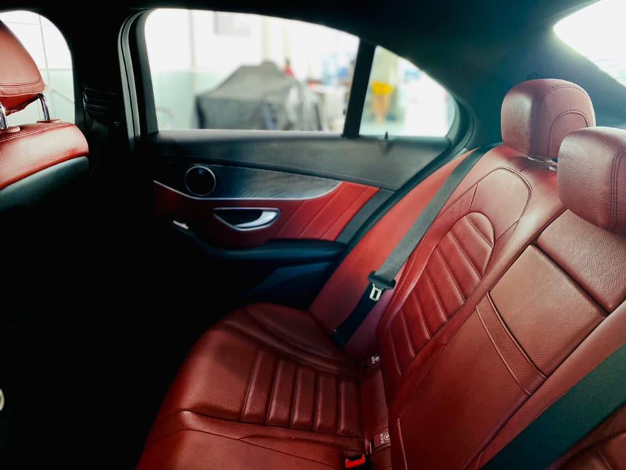 Used Mercedes-Benz C-Class C 300 4MATIC Sedan with Sport Pkg 2017 | Luxury Motor Club. Franklin Square, New York