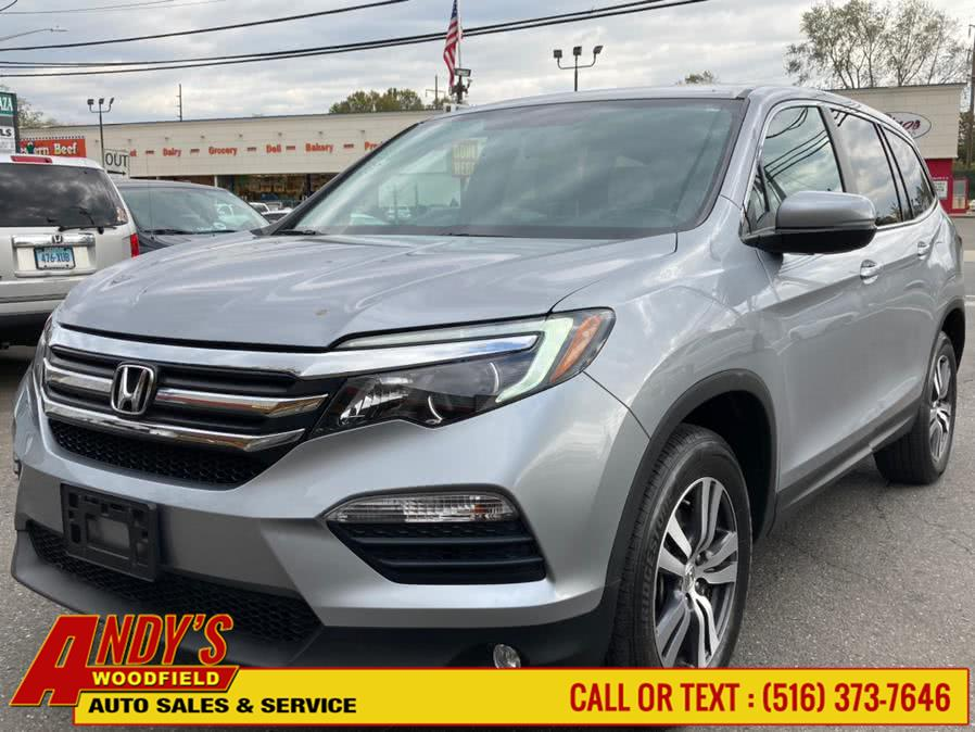 Used Honda Pilot EX-L w/Navigation AWD 2018 | Andy's Woodfield. West Hempstead, New York