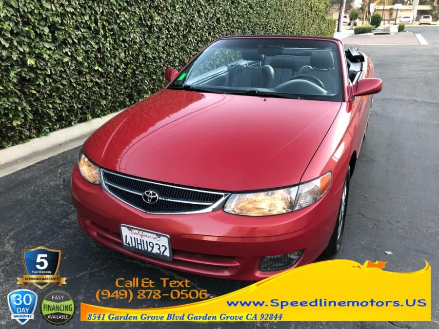 Used 2001 Toyota Camry Solara in Garden Grove, California | Speedline Motors. Garden Grove, California