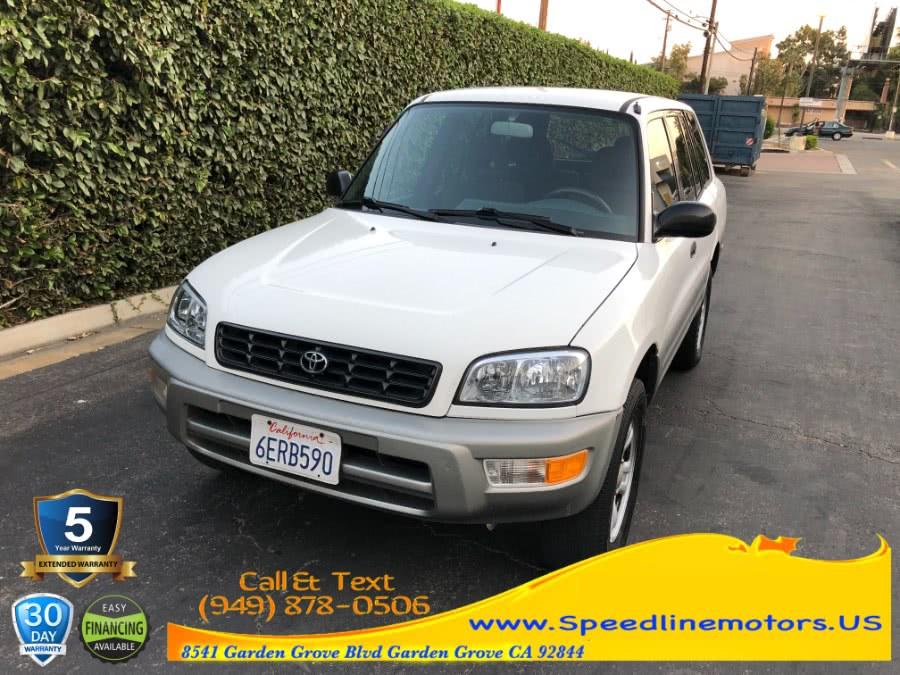 Used 2000 Toyota RAV4 in Garden Grove, California | Speedline Motors. Garden Grove, California