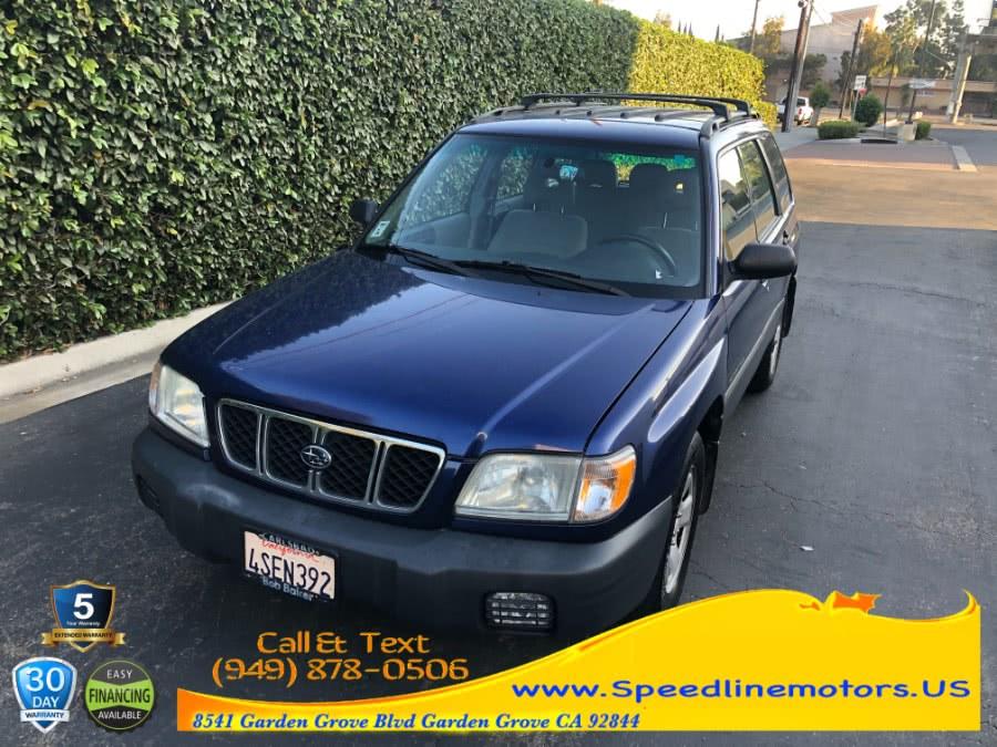 Used 2001 Subaru Forester in Garden Grove, California | Speedline Motors. Garden Grove, California