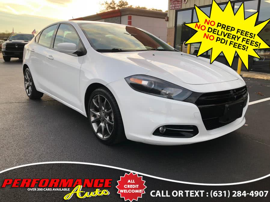 Used Dodge Dart 4dr Sdn Rallye *Ltd Avail* 2013 | Performance Auto Inc. Bohemia, New York