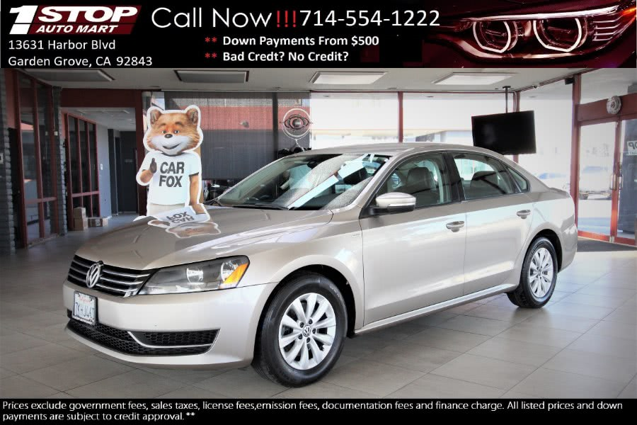 Used 2015 Volkswagen Passat in Garden Grove, California | 1 Stop Auto Mart Inc.. Garden Grove, California
