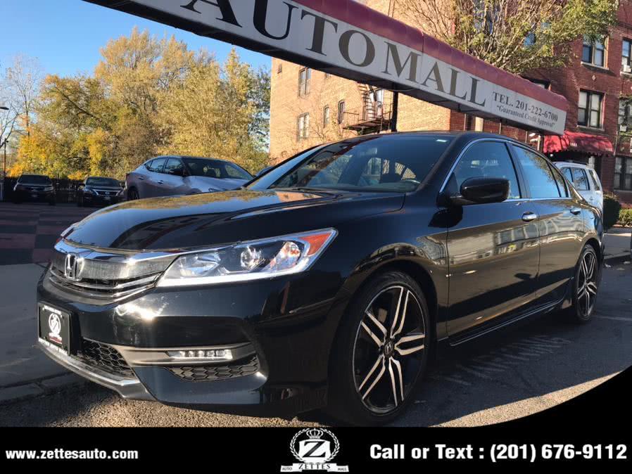 Used Honda Accord Sedan Sport CVT 2017 | Zettes Auto Mall. Jersey City, New Jersey