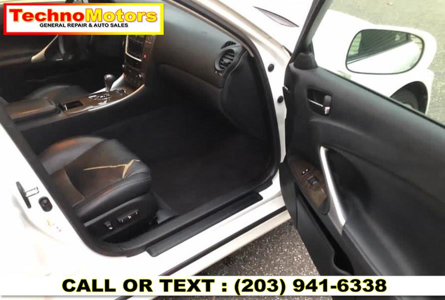 Used Lexus IS 250 4dr Sport Sdn Auto RWD 2010 | Techno Motors . Danbury , Connecticut