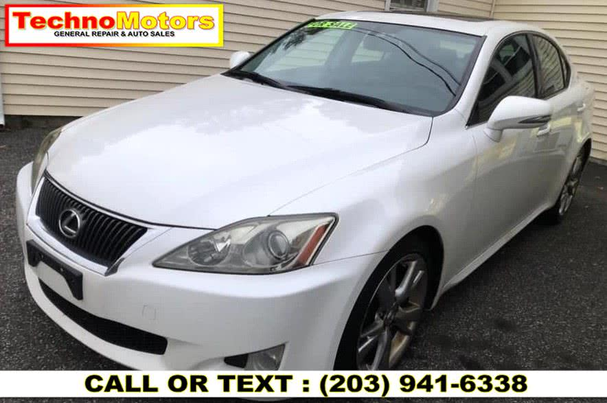 Used Lexus IS 250 4dr Sport Sdn Auto RWD 2010 | Techno Motors . Danbury , Connecticut