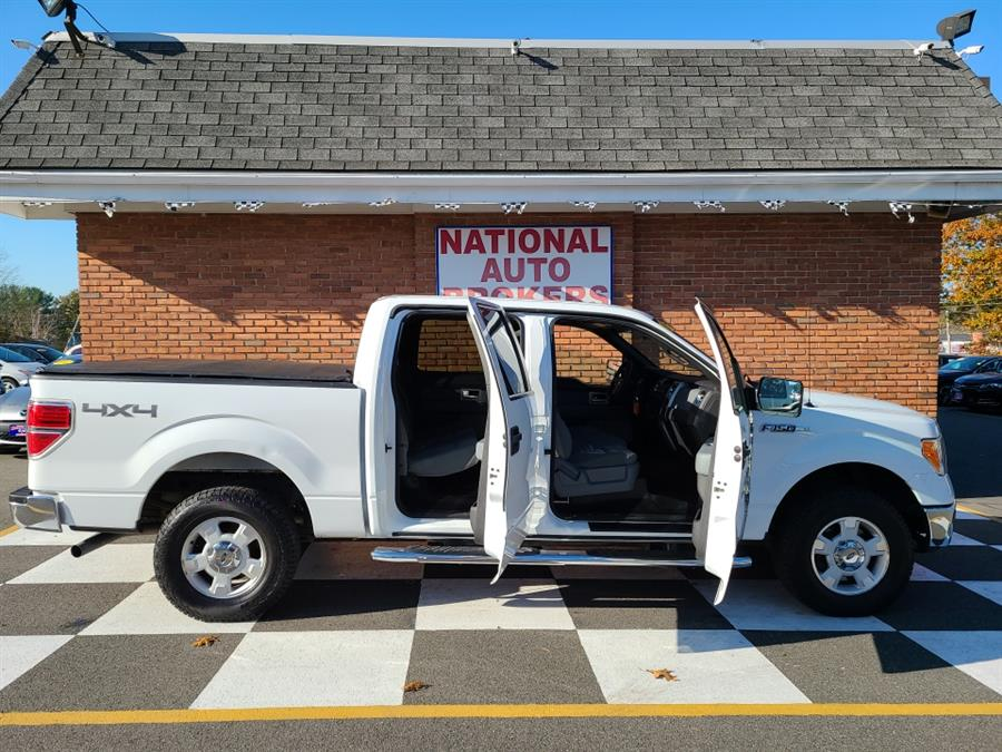 Used Ford F-150 4WD SuperCrew XLT 2011   National Auto Brokers, Inc.. Waterbury, Connecticut