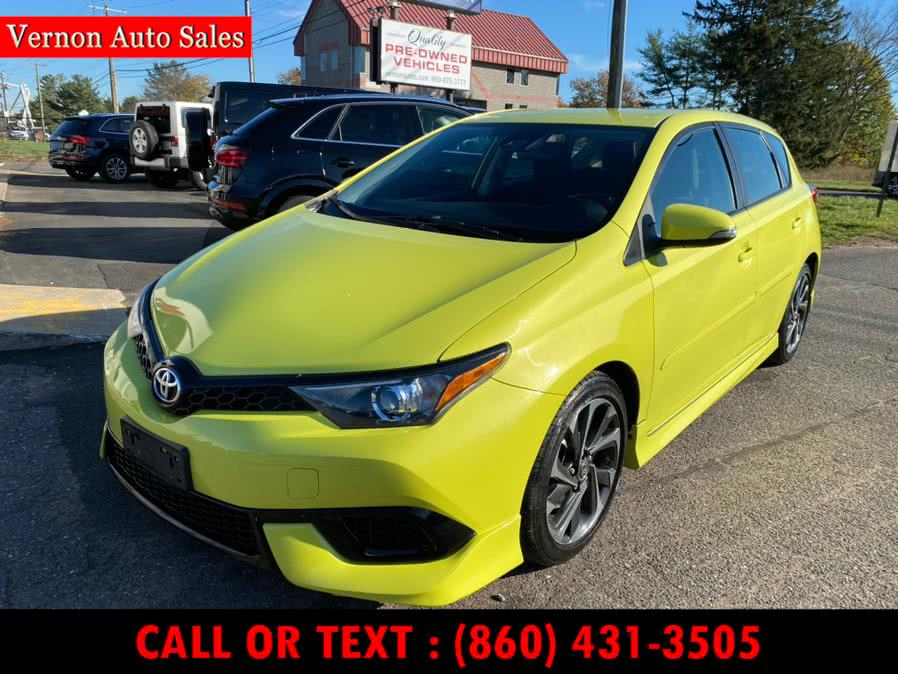 Used 2017 Toyota Corolla iM in Manchester, Connecticut   Vernon Auto Sale & Service. Manchester, Connecticut