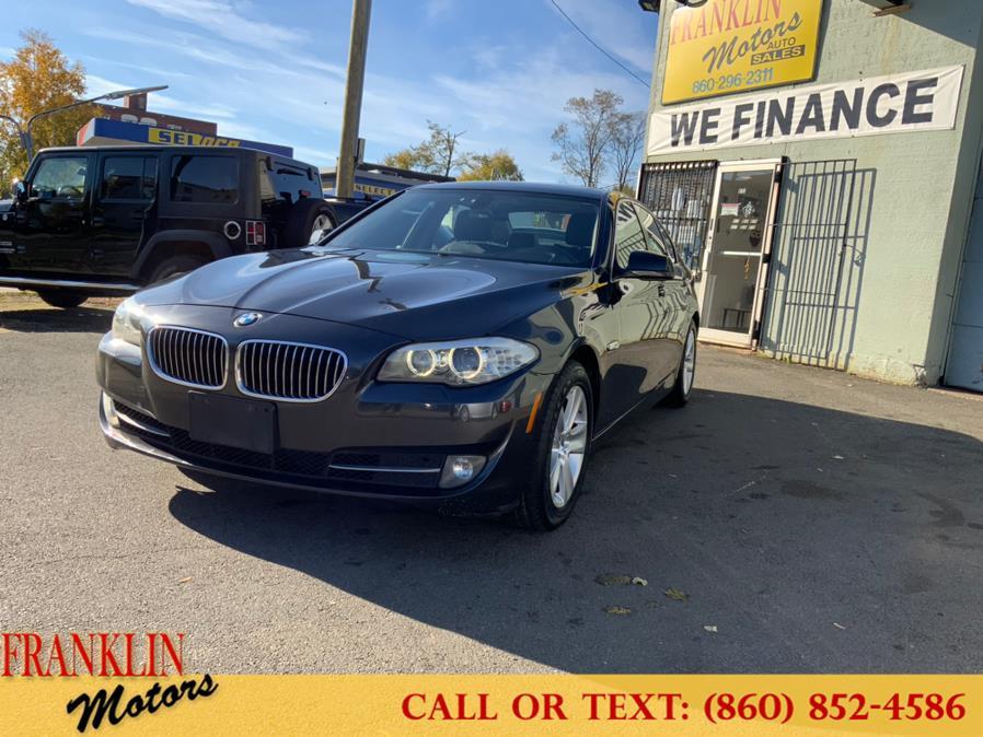 Used BMW 5 Series 4dr Sdn 528i RWD 2012 | Franklin Motors Auto Sales LLC. Hartford, Connecticut