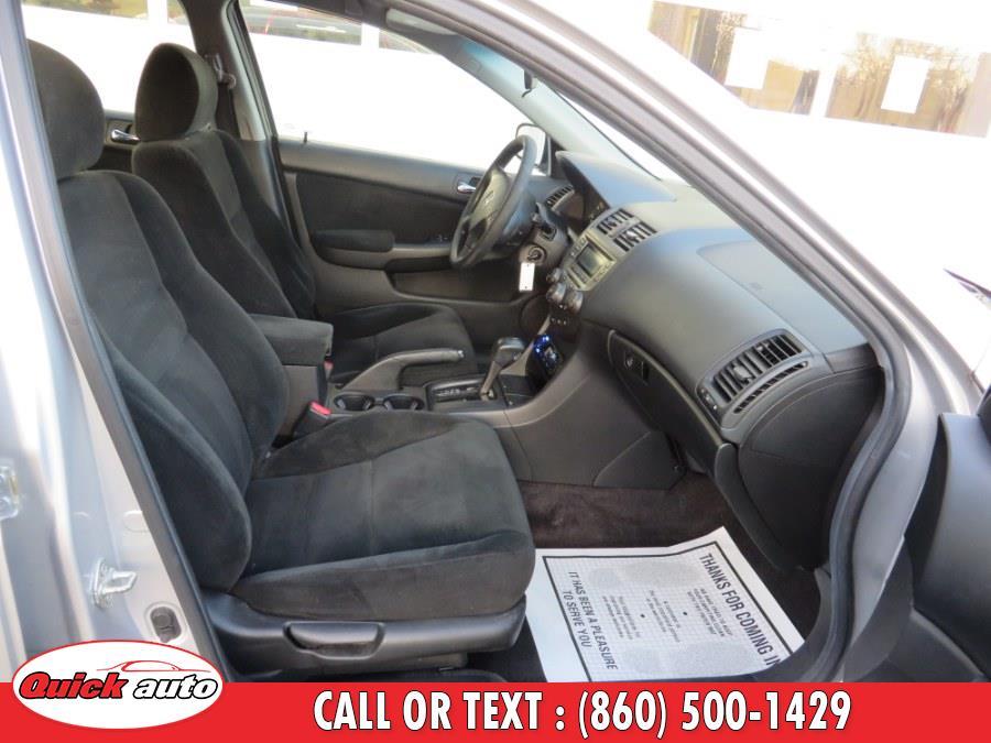 Used Honda Accord Sdn 4dr I4 AT LX PZEV 2007 | Quick Auto LLC. Bristol, Connecticut