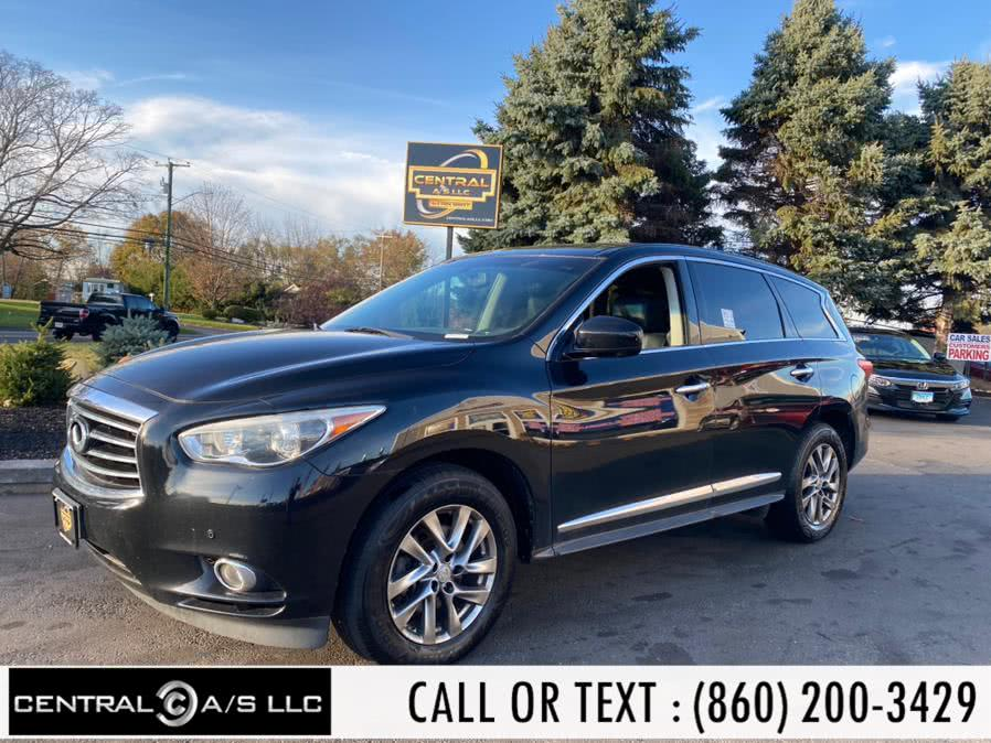 Used 2013 Infiniti JX35 in East Windsor, Connecticut | Central A/S LLC. East Windsor, Connecticut