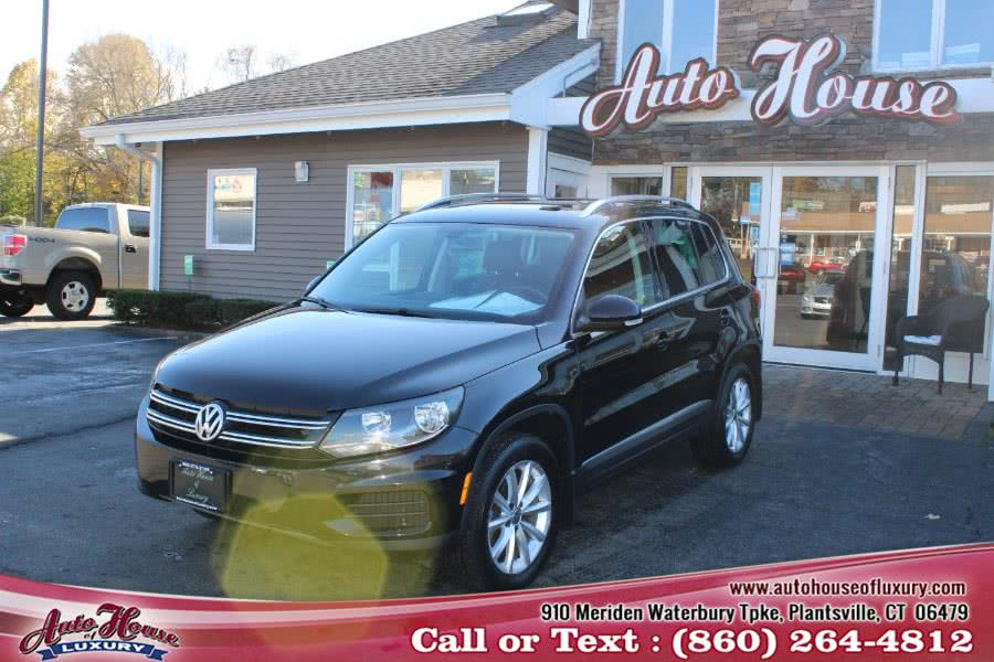 Used Volkswagen Tiguan 2.0T Wolfsburg Edition 4MOTION 2017 | Auto House of Luxury. Plantsville, Connecticut