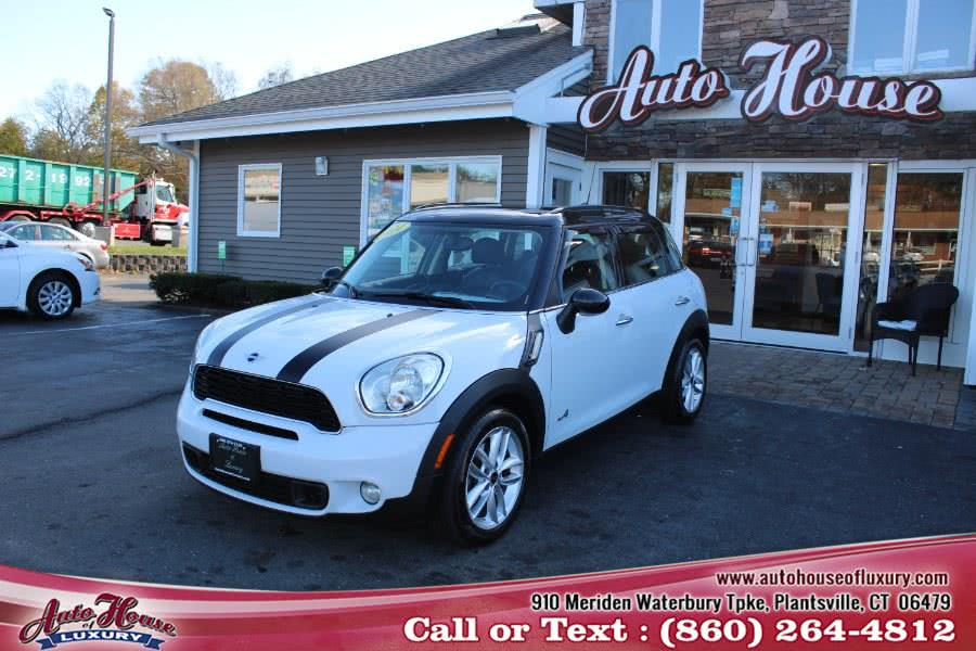 Used MINI Cooper Countryman ALL4 4dr S 2014 | Auto House of Luxury. Plantsville, Connecticut