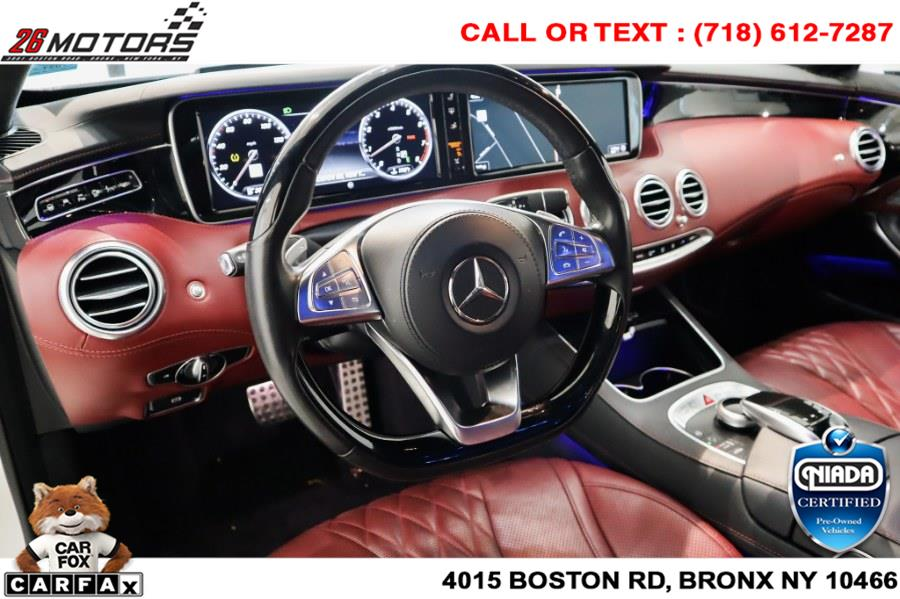 Used Mercedes-Benz S-Class S 550 4MATIC Coupe 2017 | 26 Motors Corp. Bronx, New York