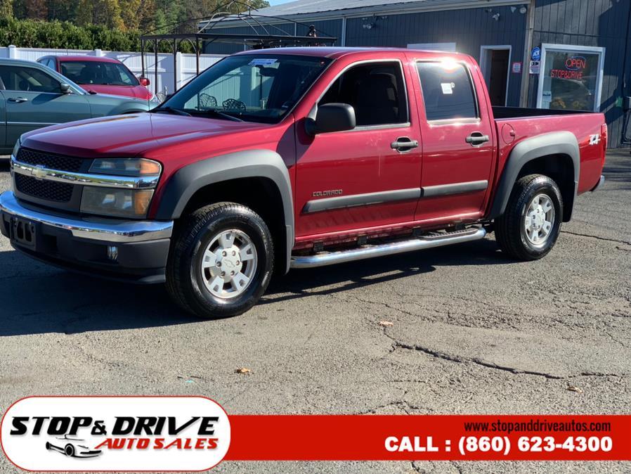 "Used Chevrolet Colorado Crew Cab 126.0"" WB 4WD 1SB LS Z85 2004 | Stop & Drive Auto Sales. East Windsor, Connecticut"