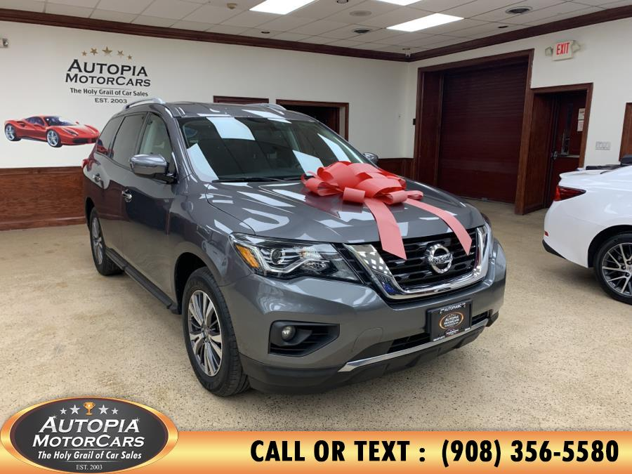 Used Nissan Pathfinder 4x4 SV 2017 | Autopia Motorcars Inc. Union, New Jersey