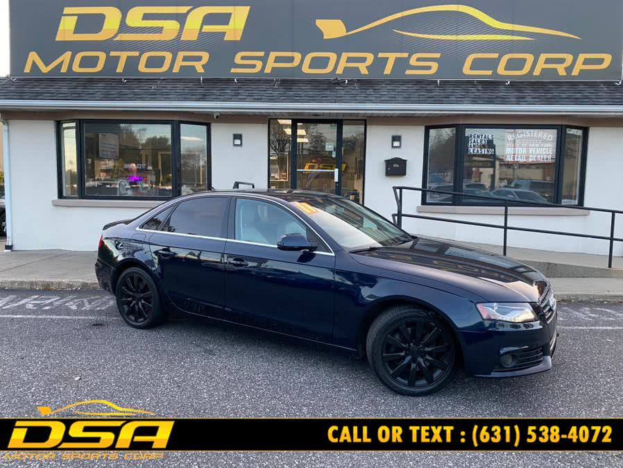Used 2011 Audi A4 in Commack, New York | DSA Motor Sports Corp. Commack, New York