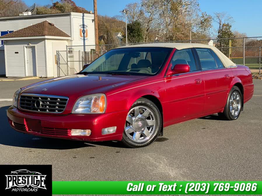 Used Cadillac DeVille 4dr Sdn DTS 2001 | J&J Auto Sales & Repairs llc DBA Prestige Motorcar. Oakville, Connecticut