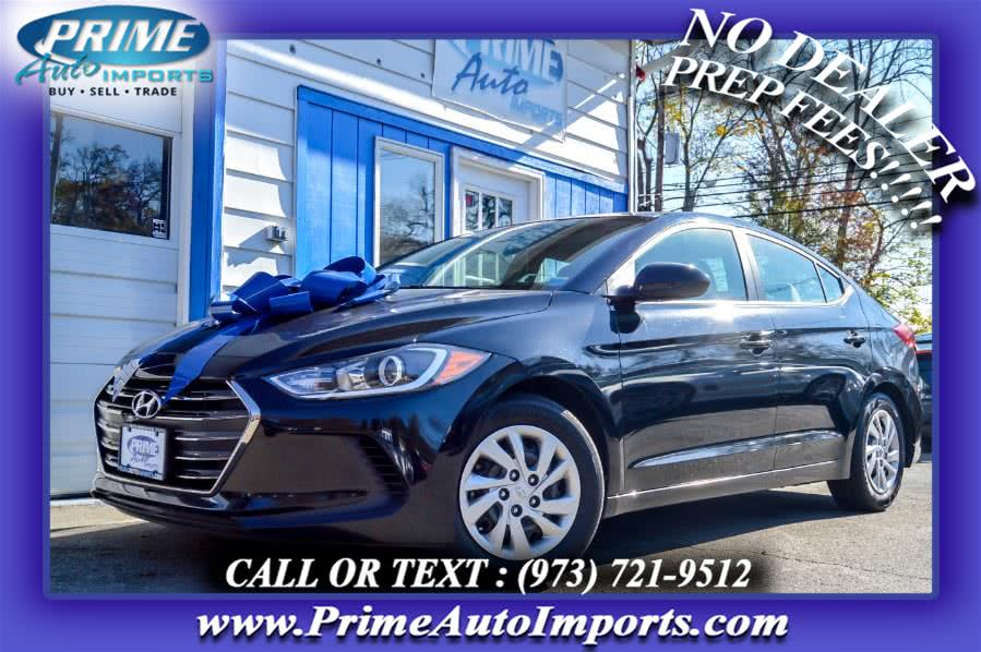 Used 2017 Hyundai Elantra in Bloomingdale, New Jersey | Prime Auto Imports. Bloomingdale, New Jersey