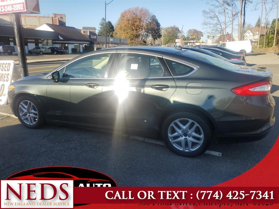 Used Ford Fusion 4dr Sdn SE FWD 2016 | New England Dealer Services. Indian Orchard, Massachusetts