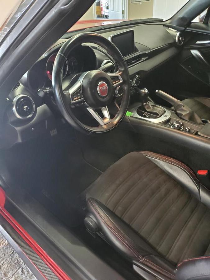 Used FIAT 124 Spider Elaborazione Abarth Convertible 2017 | Center Motorsports LLC. Shelton, Connecticut