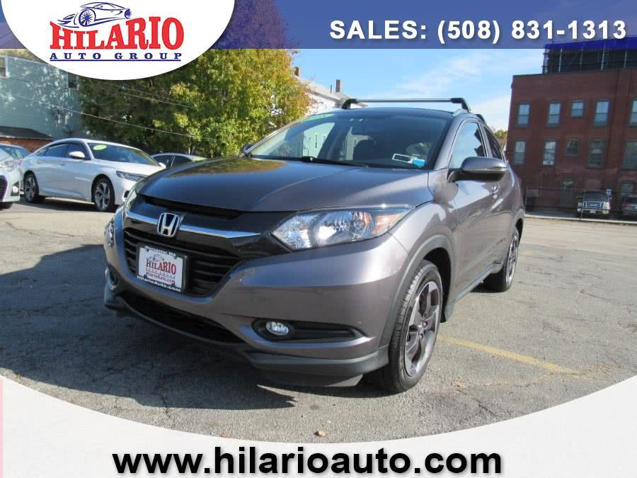 Used 2018 Honda HR-V Navi AWD CVT in Worcester, Massachusetts | Hilario's Auto Sales Inc.. Worcester, Massachusetts