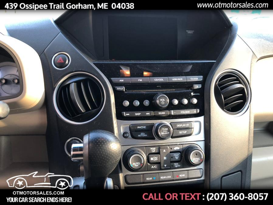 Used Honda Pilot 4WD 4dr EX 2013   Ossipee Trail Motor Sales. Gorham, Maine