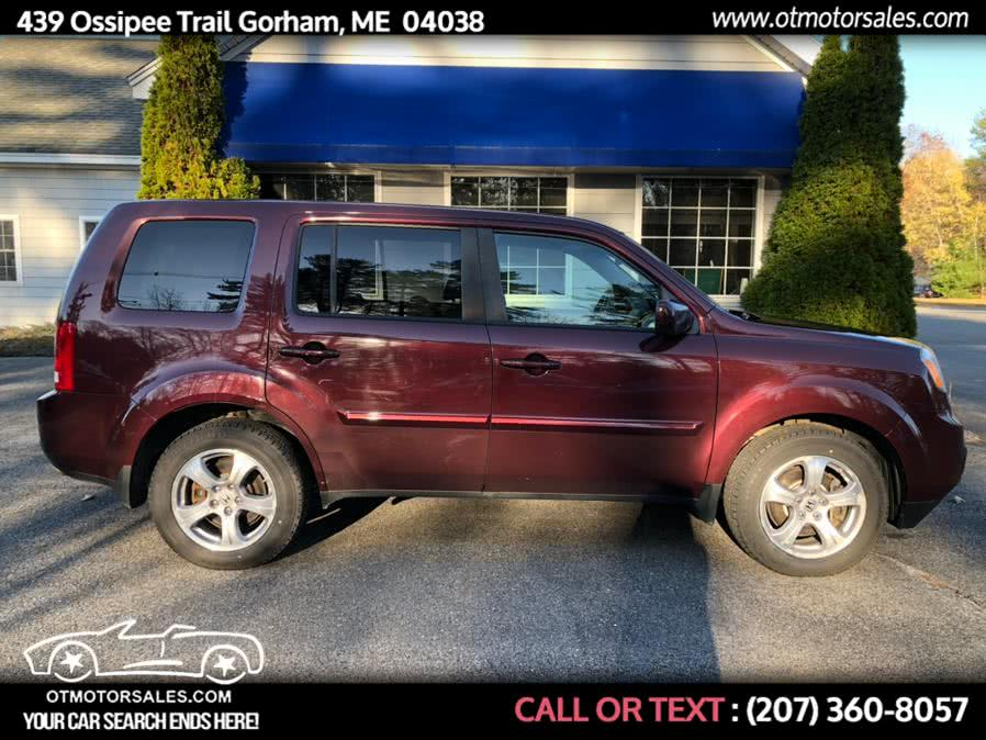 2013 Honda Pilot 4WD 4dr EX, available for sale in Gorham, ME