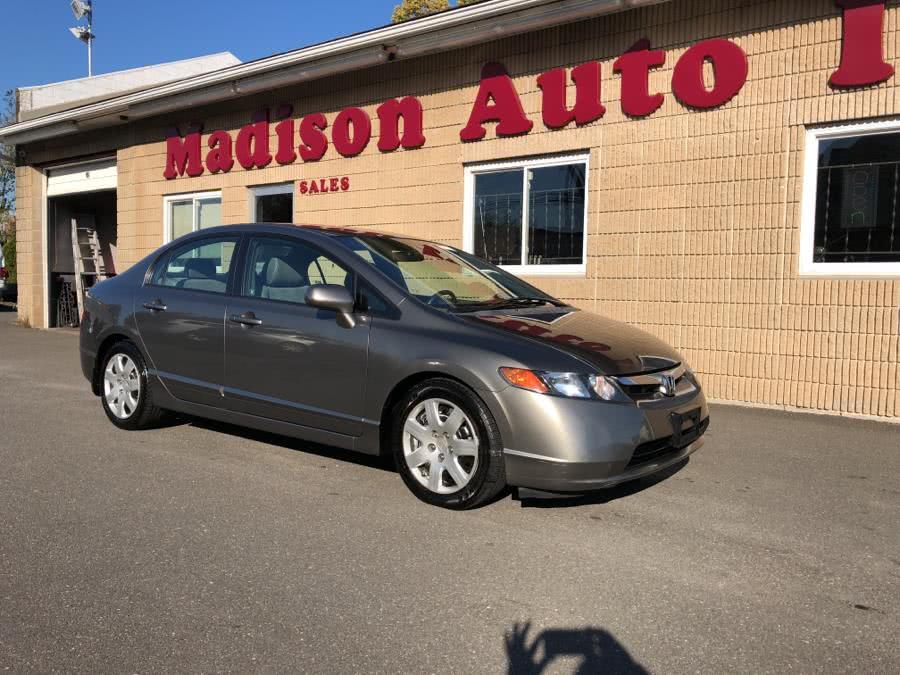 Used 2008 Honda Civic Sdn in Bridgeport, Connecticut | Madison Auto II. Bridgeport, Connecticut