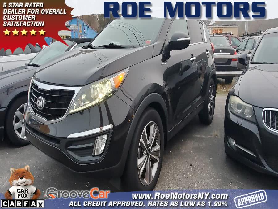 Used Kia Sportage AWD 4dr SX 2014 | Roe Motors Ltd. Shirley, New York